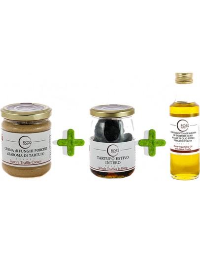 Троен пакет трюфели зехтин и гъби манатарки Намаления, Продукти изображение